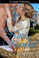 Cover for 'A Note of Scandal'