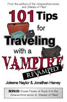 Cover for '101 Tips for Traveling with a Vampire'
