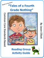 Cover for 'Tales of a Fourth Grade Nothing Reading Group Activity Guide'