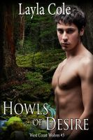 Cover for 'Howls of Desire (m/m Werewolf Erotica)'