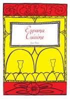 Cover for 'Spanish Cookbook 'Espana Cuisine''
