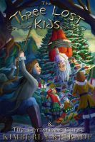 Cover for 'The Three Lost Kids & The Christmas Curse'