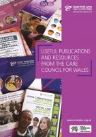 Cover for 'Useful Publications and Resources from the Care Council for'