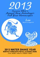 Cover for '2013 Leo - Suzanne White's Annual Horoscopes for Leo'