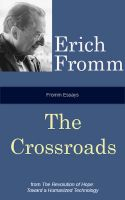 Cover for 'Fromm Essays: The Crossroads'