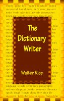 The Dictionary Writer cover