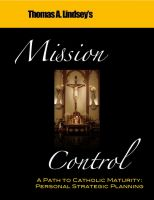 Cover for 'Mission Control - A Path to Catholic Maturity'