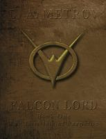 Cover for 'Falcon Lord -- Book One: The Lost Isle of Perpetua (An Epic Steampunk Fantasy Novel)'