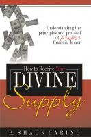 Cover for 'How to Receive Your Divine Supply'