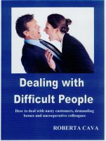 Cover for 'Dealing with Difficult People'