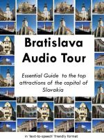 Cover for 'Bratislava Audio Tour'