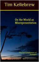 Cover for 'On the World as Misrepresentation'