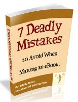 Cover for 'Seven Deadly Mistakes To Avoid When Making An eBook'