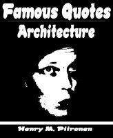 Cover for 'Famous Quotes on Architecture'
