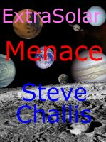 Cover for 'ExtraSolar Menace'
