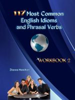 Cover for '117 Most Common English Idioms and Phrasal Verbs: Workbook 2'