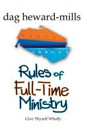 Cover for 'Rules of Full Time Ministry'
