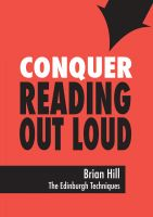 Cover for 'Conquer Reading Out Loud'