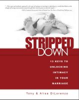 Cover for 'Stripped Down: 13 Keys to Unlocking Intimacy in Your Marriage'