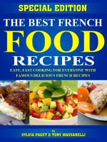 Cover for 'The Best French Food Recipes'