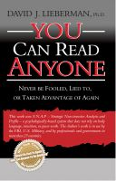 Cover for 'You Can Read Anyone'
