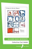 Cover for 'Allegro nada moderato'