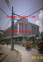 Cover for 'Demons Despise Cole'