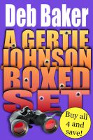 Cover for 'Gertie Johnson Murder Mysteries Boxed Set (Books 1-4)'