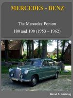 Cover for 'The Mercedes 180, 190 Ponton'