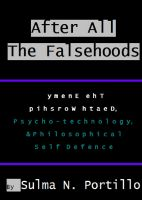 Cover for 'After All The Falsehoods'