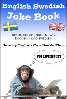 Cover for 'English Swedish Joke Book'