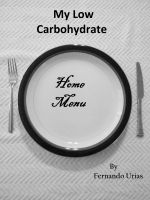 Cover for 'My Low Carbohydrate Home Menu'