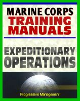 Cover for 'U.S. Marine Corps Training Manual: Expeditionary Operations, MCDP 3 - USMC Marines Document Series'