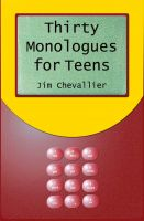Cover for 'Thirty Monologues for Teens'