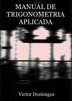 Cover for 'Manual de Trigonometria Aplicada'