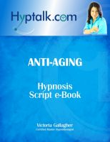 Cover for 'Anti-Aging Hypnosis Script eBook'