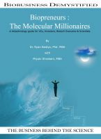 Cover for 'Biopreneurs: The Molecular Millionaires'