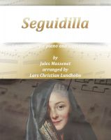 Cover for 'Seguidilla Pure sheet music for piano and soprano saxophone by Georges Bizet arranged by Lars Christian Lundholm'