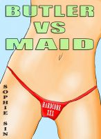 Cover for 'Hardcore XXX: Butler VS Maid (X-Rated One Shot)'
