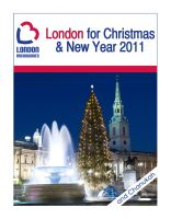 Cover for 'London for Christmas & New Year 2011'