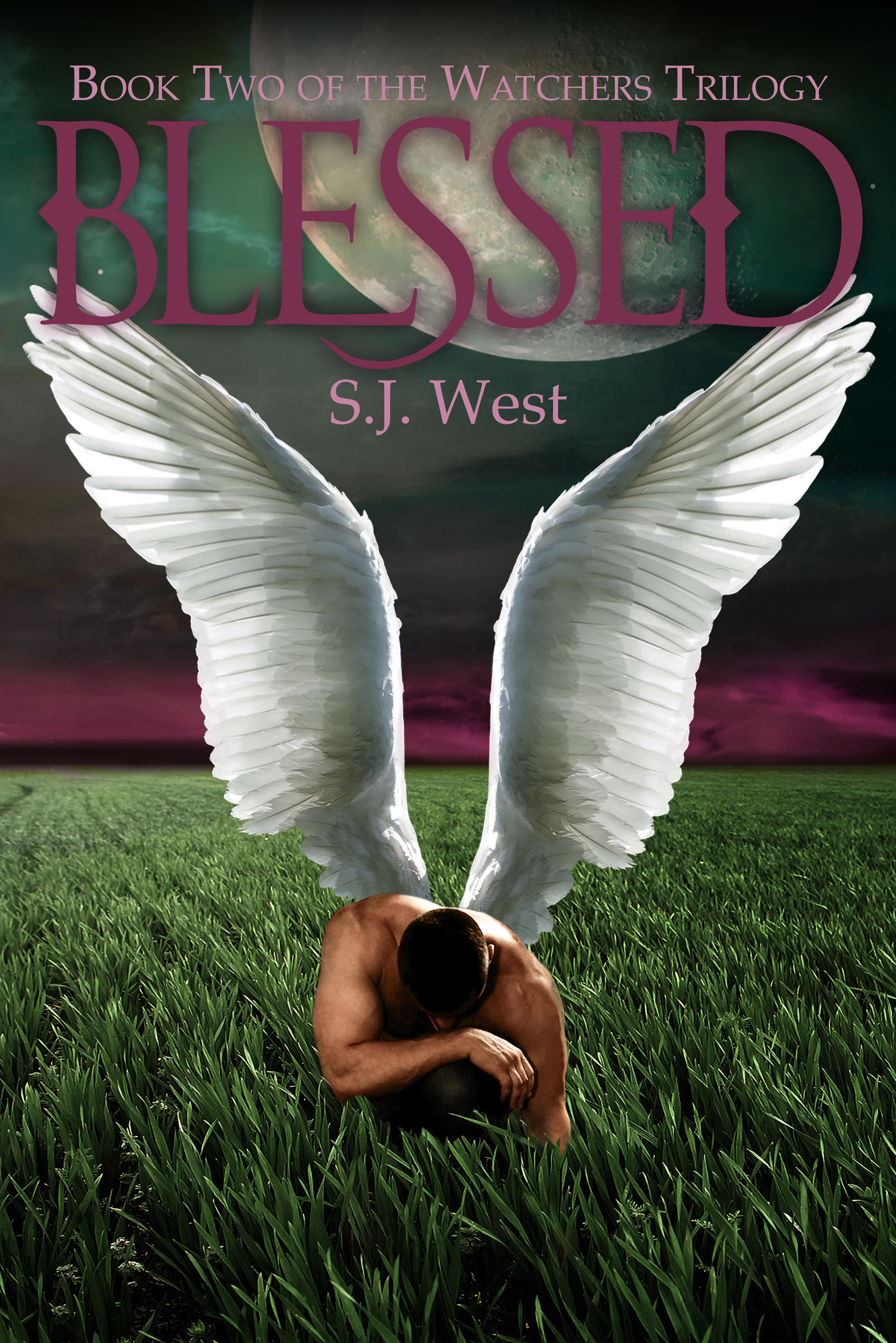 S.J. West - Blessed (Book 2, The Watchers Trilogy)