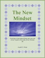 Cover for 'The New Mindset'