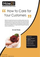 Cover for 'How to Care for Your Customers'