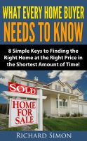 Cover for 'What Every Home Buyer Needs to Know'