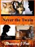 Never The Twain by Rosemary J. Peel
