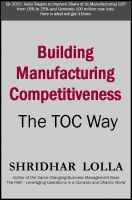 Cover for 'Building Manufacturing Competitiveness - The TOC Way'