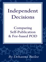 Cover for 'Independent Decisions'