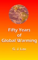 Cover for 'Fifty Years of Global Warming'