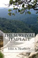 Cover for 'The Survival Template'