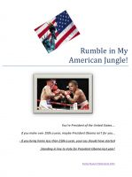 Cover for 'Rumble In The My American Jungle'